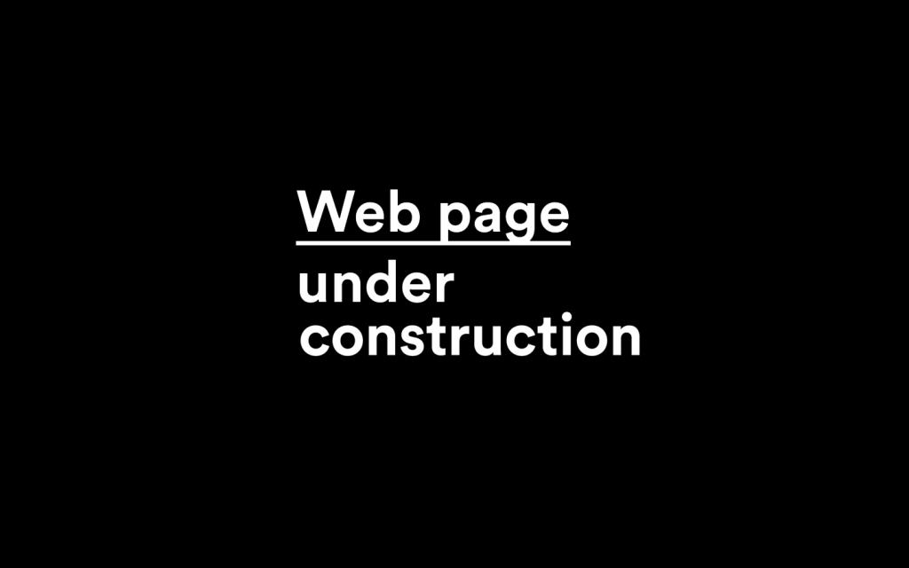 Under costruction